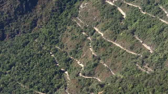 Inca Road in Machu Picchu, Peru