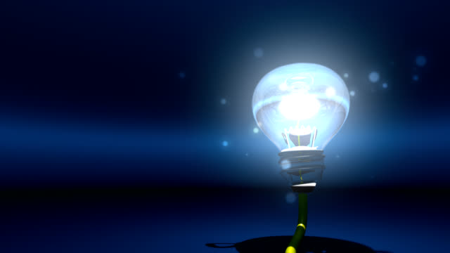 incandescent bulb that illuminates the darkness of my mind - incandescent bulb stock videos and b-roll footage