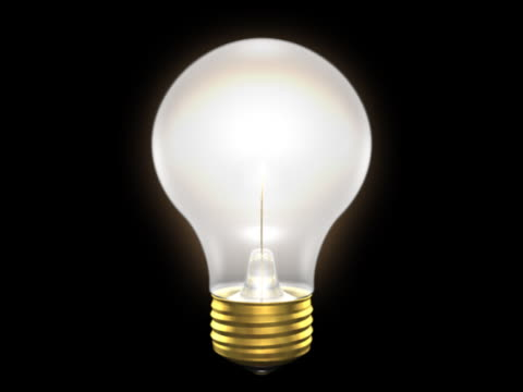 incandescent lightbulb, lit - incandescent bulb stock videos and b-roll footage