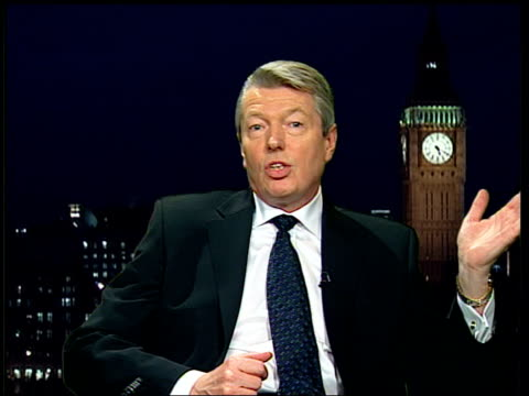 stockvideo's en b-roll-footage met incentives for people reentering work force england london alan johnson interview sot there are seven hundred thousand people a year coming onto... - initiatief