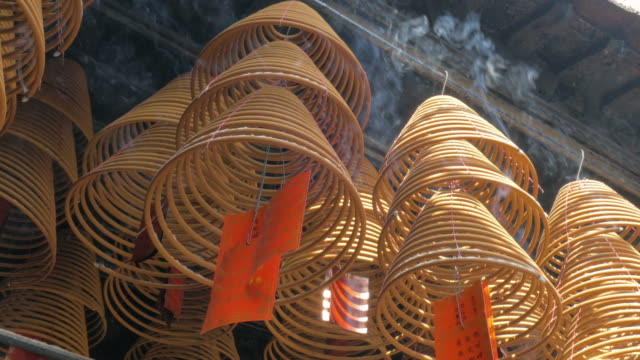 Incense Coils, Coloane, Macau, China