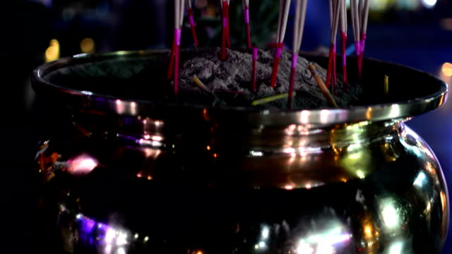 incense - patchouli stock videos & royalty-free footage