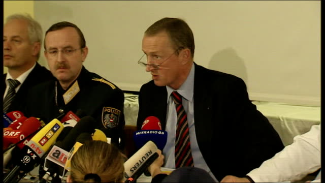 incest case/ father in court int franz polzer press conference sot * * flash should the social services have access to wiped criminal records / this... - lower austria stock videos and b-roll footage