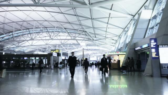 TL POV Incheon airport departures hall / Incheon, South Korea