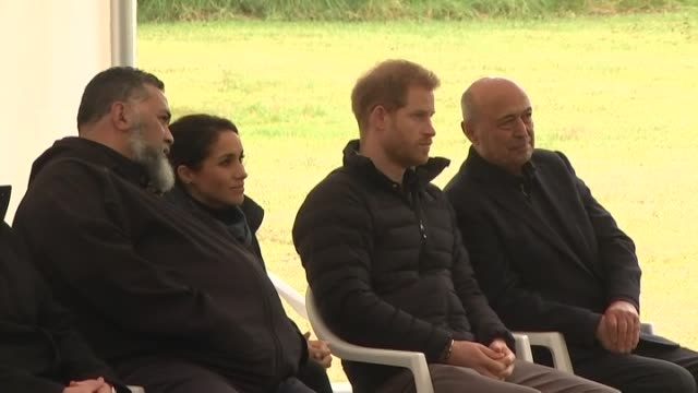 Including Maori escorts translating powhiri proceedings to Royal pair