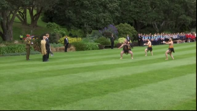 Including Prince Harry accepting wero challenge from Maori warrior