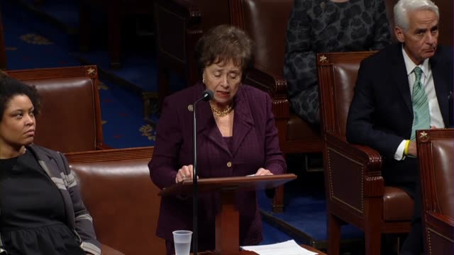 incoming house appropriations committee chair nita lowey of new york says in debate on a spending bill with border wall construction funding and... - climate finance stock videos & royalty-free footage