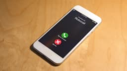 Incoming Phone Call from Robocaller Number Is Declined