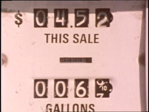 increased oil prices in 1973 caused changes and sacrifices in the traditional american way of life - 1973 stock videos & royalty-free footage