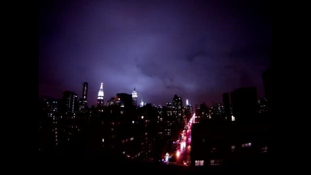 Incredible and exclusive time lapse footage of Superstorm Sandy battering Manhattan NOTE THE FLASH 11 SECONDS IN AS THE ELECTRICITY SUBSTATION...