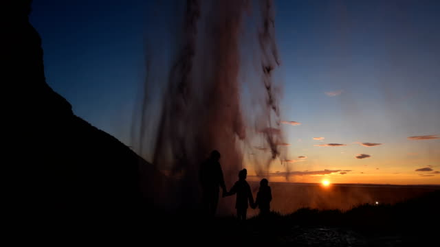 incredible childhood memories - seljalandsfoss waterfall stock videos and b-roll footage