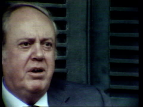 independence ceremony mugabe speaking alongside lord soames sot lord soames interview sot fortune favoured zimbabweans it looked as if it was going... - miracle stock videos & royalty-free footage