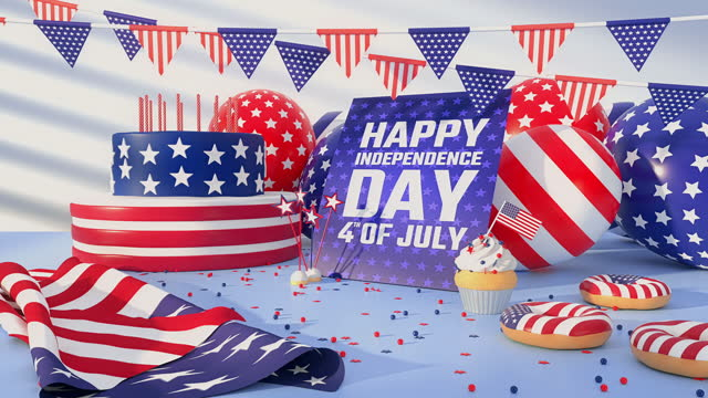 independence day - 4k resolution - top hat stock videos & royalty-free footage