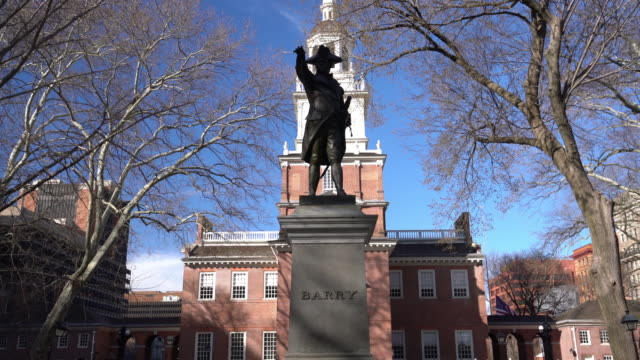independence hall national historic park philadelphia - independence hall stock videos and b-roll footage
