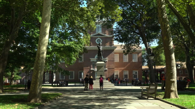independence hall - philadelphia, pa - independence hall stock videos and b-roll footage