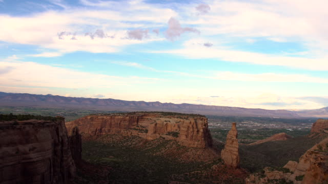 independence rock colorado national monument near grand junction - sandstone stock videos & royalty-free footage