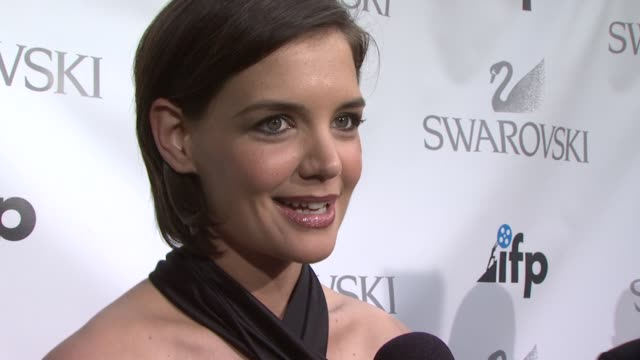 Independent Filmmaker Project Celebrates 30 Years with Katie Holmes New York NY 4/26/09