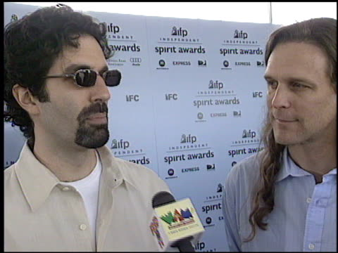 ifp independent spirit awards 1 of 2 at the 2003 ifp independent spirit awards on march 22 2003 - ifp independent spirit awards stock videos and b-roll footage