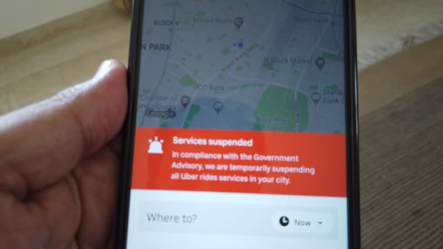 india an american multinational ridehailing company has suspended all its ride services in compliance with the government of india advisory - india politics stock videos & royalty-free footage