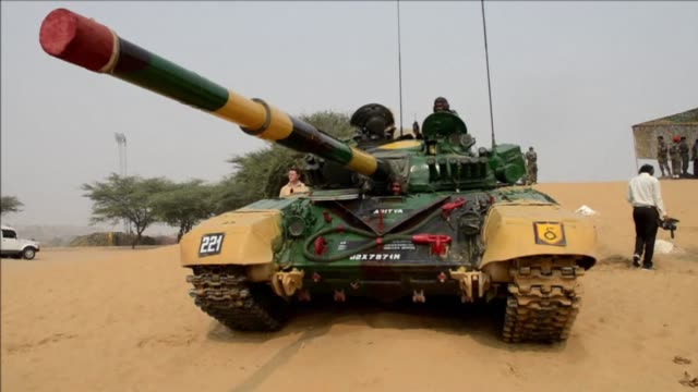 India and Russia hold joint military exercises in the deserts of Rajasthan near the Pakistani border CLEAN India and Russia hold joint military exerc...