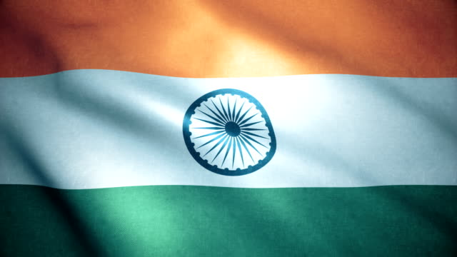 india flag - politics stock videos & royalty-free footage