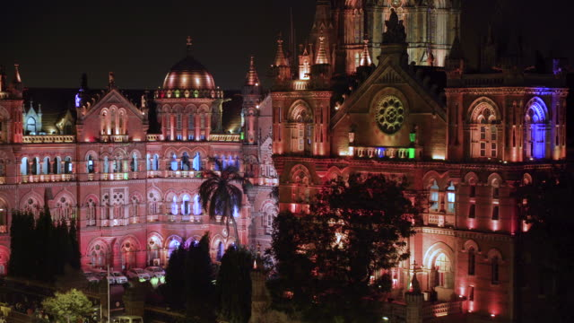 India, Mumbai, Maharashtra, Chhatrapati Shivaji Maharaj Terminus railway station (CSMT), (formerly Victoria Terminus), UNESCO World Heritage Site
