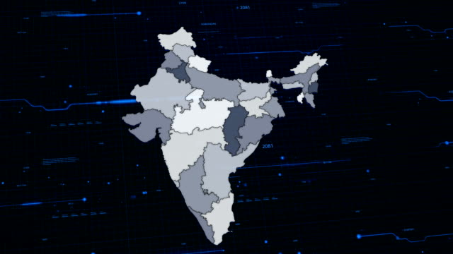 India network map