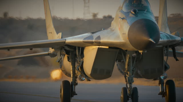 indian air force mig-29 - terrorism stock videos & royalty-free footage