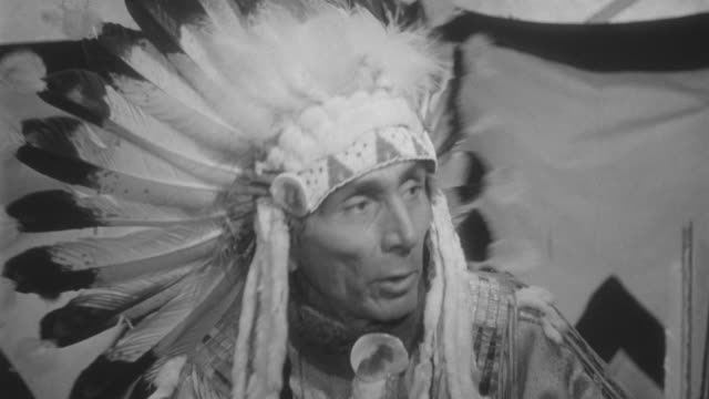 ms indian chief - chief leader stock videos & royalty-free footage