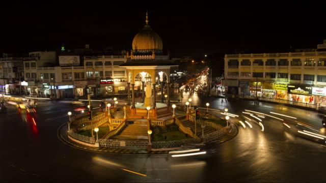 Città indiana time lapse