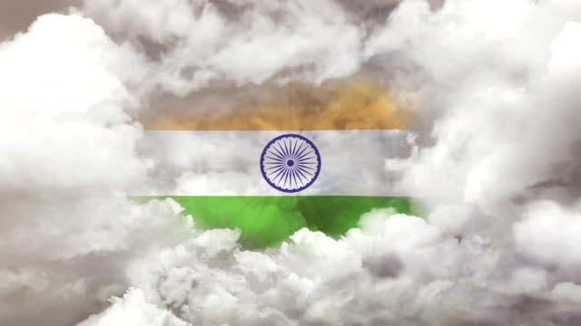 indian flag - 4k resolution - opportunity stock videos & royalty-free footage