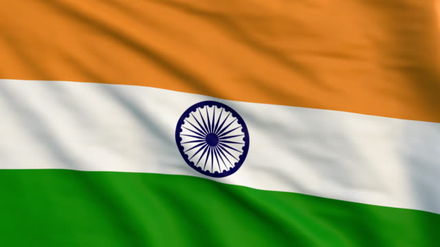 indian flag animation- 4k - politics stock videos & royalty-free footage