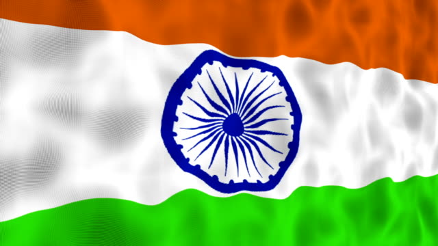 indian flag - indian flag stock videos & royalty-free footage