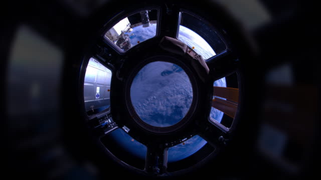 Indian Ocean to Pacific Ocean Through the Cupola time lapse