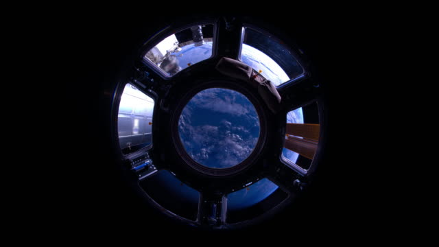 indian ocean to pacific ocean through the cupola - astronaut stock videos & royalty-free footage