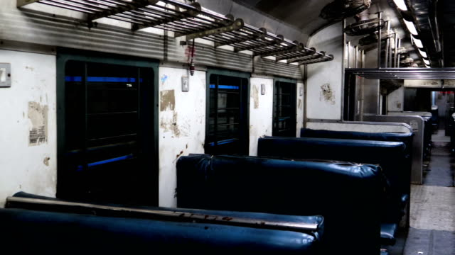 Indian passenger train interior