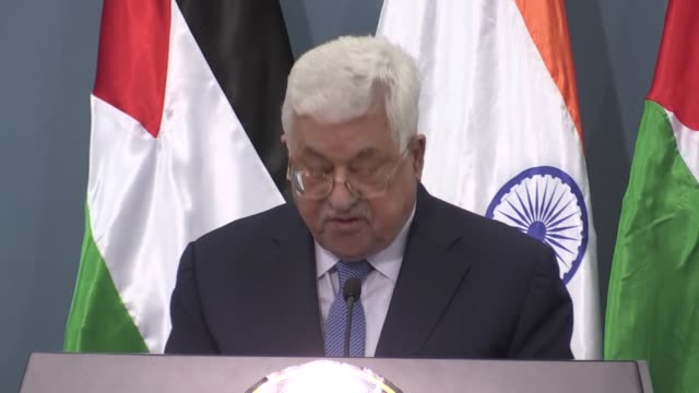 Indian Prime Minister Narendra Modi arrived in the West Bank city of Ramallah on Saturday for his first official visit to the Palestinian territories...
