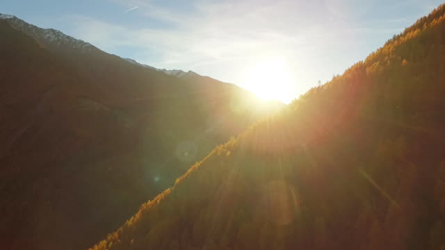 Indian summer in the mountains