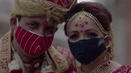 Indian Wedding during Coronavirus lockdown