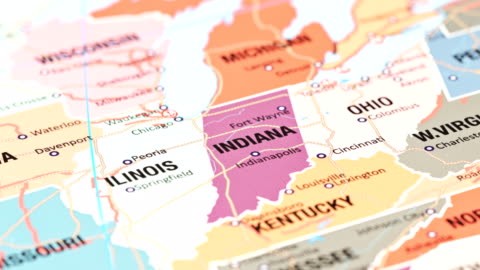 indiana from usa states - indiana stock videos & royalty-free footage