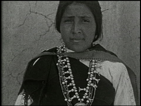 indians of the painted desert - 1 of 4 - navajo culture stock videos & royalty-free footage