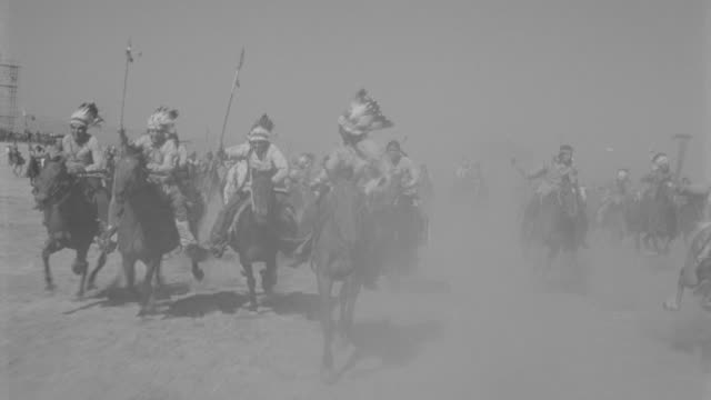 MS TS Indians riding