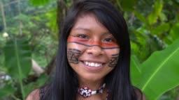 Indigenous Woman in Brazil