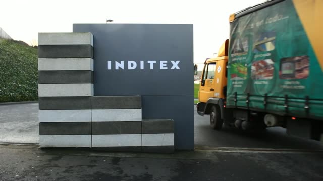 Inditex SA Headquarters and Zara Fashion Stores on February 13 2014 in Arteixo Spain