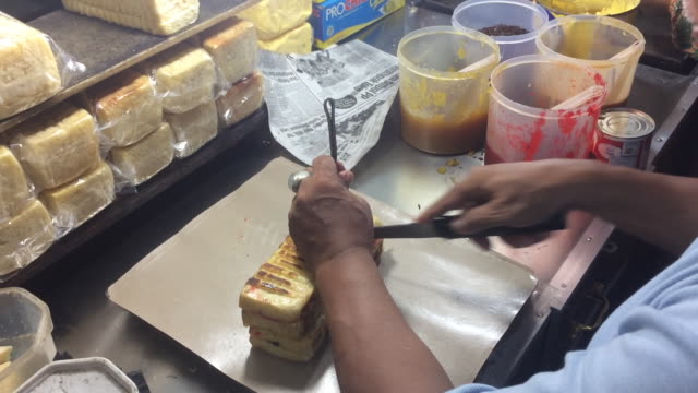 indonesia street food - indonesia stock videos & royalty-free footage