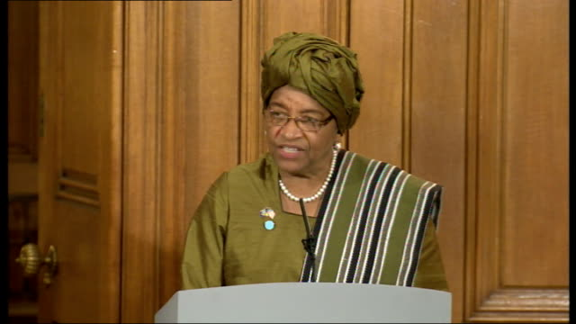indonesian president at downing street president ellen johnson sirleaf sot i'm honoured to be one of the cochairs as one of the regions in partivular... - vulnerability stock videos and b-roll footage