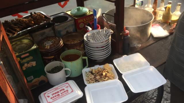 indonesian street food - jakarta stock videos & royalty-free footage