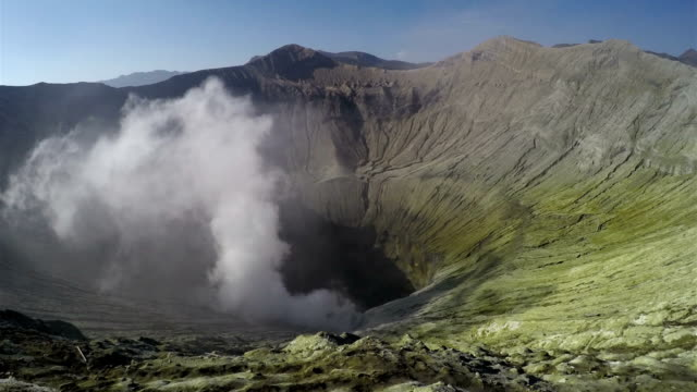 Indonesian Volcano HD Timelapse