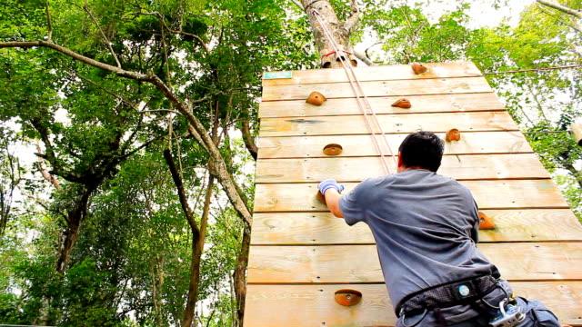 vídeos de stock e filmes b-roll de indoor escalar sem corda - escalada livre