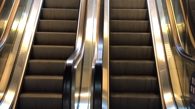 indoor escalator - escalator stock videos & royalty-free footage